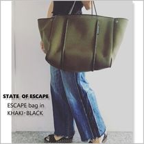 State of escapeのトートバック☆人気色カーキ☆(追跡付き)