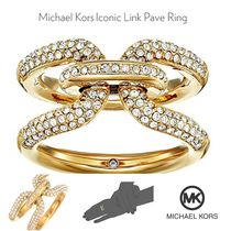 【Michael Kors】 ゴージャス★Iconic Link Paveリング★関税込