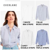 【EVERLANE】最新●日本未入荷●The Relaxed Soft Cotton Shirt