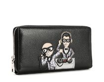 【関税負担】  DOLCE&GABBANA  ZIP AROUND WALLET