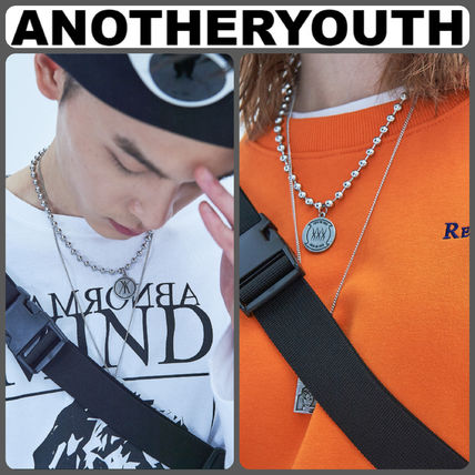 【ANOTHERYOUTH】正規品★新作 ペンダントネックレス/追跡送料込