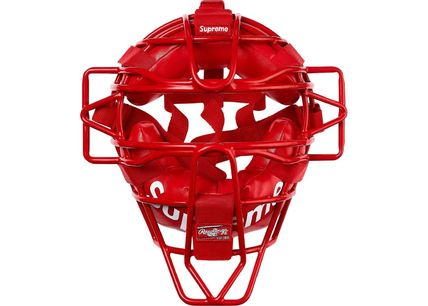 Supreme その他ファッション Supreme Rawlings Catcher's Mask Red
