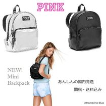 PINK【国内発送】ミニ・バックパック♪全2色☆ Mini Backpack