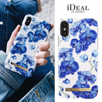 "新作!☆iDEAL OF SWEDEN☆""BABY BLUE ORCHID"" iPhoneケース"