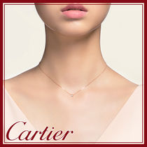 Cartier(カルティエ) ネックレス・ペンダント 【送料無料 国内発】ネックレス ディアマン レジェ SM k18ピンク