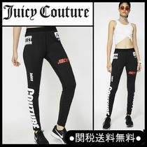 """【NEW】*Juicy Couture""""MIXED SPORT COMPRESSION レギンス"""