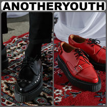 ANOTHERYOUTH(アナザーユース) ドレスシューズ・革靴・ビジネスシューズ 【ANOTHERYOUTH】正規品★Studded m/g gibson シューズ 2色 /EMS