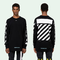 OFF WHITE TEMPERATURE L/S TEE 長袖 Tシャツ