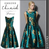 【国内発送・関税込】Chicwish★Peonies Print Prom Dress