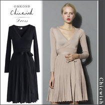【国内発送・関税込】Chicwish★Embrace Lithe Knitted Dress