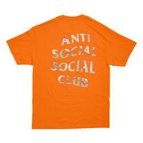 【ANTI SOCIAL SOCIAL CLUB】Storm Orange Tee【即発送】