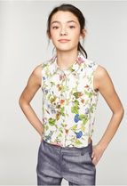 Milly(ミリー) キッズ用トップス 《関税・送料無料》トップス♪ MILLY MINIS FLORAL PRINT