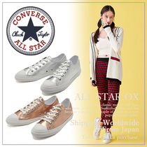【CONVERSE】コンバース ALL STAR S GLOSSYMETALLIC OX