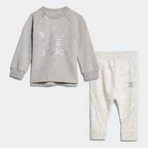 ★adidas KIDS★I FRENCH TERRY CREW (75-100㎝)★追跡付 CE1140