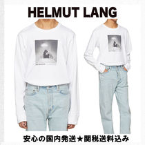 【Helmut Lang】Carrie Mae Man Reading PaperロンT(送関無料)