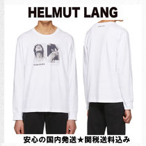 【Helmut Lang】PLook Up and Side Face ロンT (送関込)