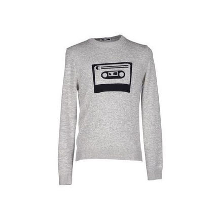 CARVEN トップスその他 メンズ Sweaters and Sweatsh  Light grey Sweater