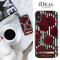 "新作!☆iDEAL OF SWEDEN☆""STRIPED ROSES"" iPhone&スマホケース"