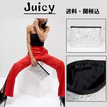 Juicy By Juicy Couture メタリック Embossedロゴクラッチバック