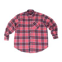 A PIECE OF CAKE(ピースオブケイク) ブラウス・シャツ ★A PIECE OF CAKE★日本未入荷 Oval Logo Check Shirts_Sakura