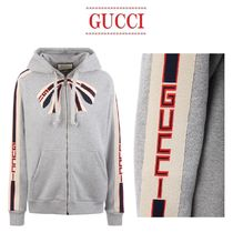 【GUCCI】Gucci ribbon oversize hoodieリボンフーディ
