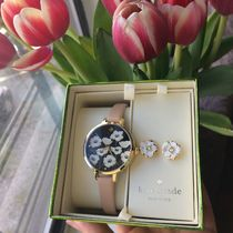 ☆Kate Spade ☆Flower Metro Watch & フラワーピアスセット