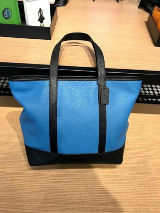 Coach トートバッグ 追跡有 COACH★5月新作★メンズ WEST TOTE F23248