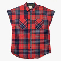 【FEAR OF GOD】The Sleeveless Flannel【即発送】
