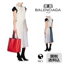 関税送料込 *BALENCIAGA* Projection dress in patchwork jersey