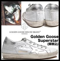 ★関税込/追跡★GOLDEN GOOSE★SUPER STARスニーカー SILVER