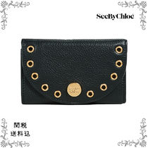 See by Chloe*関税送料込*フラップコンパクトウォレット/BLACK