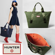 Hunter x Target  限定コラボ Large Tote Bag Olive