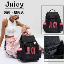 Juicy By Juicy Coutureナイロンロゴバックパック