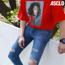 ★ASCLO★ VP SUPPLE DENIM PANTS