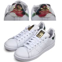 【海外限定】 adidas Originals Stan Smith GOLD 花柄
