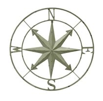 20%OFF Compass Rose WallHanging 28Inch-white 送料無料 関税込