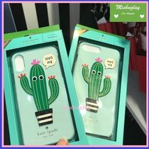 【kate spade】可愛いサボテン♪Hug Me★iPhone7/8 Plus or X★