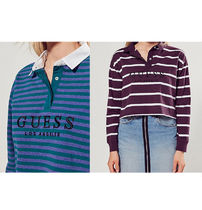 GUESS + UO Long Sleeve Rugby Shirt