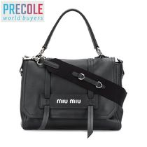 18SS MIU MIU TOP HANDLE TOTE 5BD0782BYAVOOOF0002