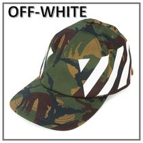 【18SS/完売確実】Off-White☆ミリタリー プリント キャップ