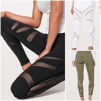 [lululemon]♥Wunder Under Hi-Rise 7/8 Tight +メッシュ