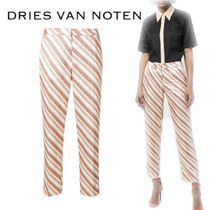 【18SS】★Dries Van Noten★diagonal candy-striped trousers