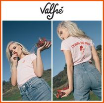 Valfre(ヴァルフェー) Tシャツ・カットソー ☆日本未入荷LA発☆18SS新作☆Valfre☆I'M WITH THE BAND TEE