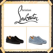 ★Christian Louboutin《 SPIKE LEATHER SNEAKERS 》送料込み★