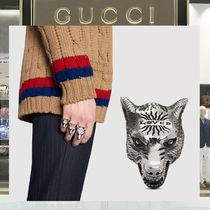 18SS GUCCI ☆Anger Forest LOVEDウォルフヘッド シルバーリング