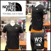 THE NORTH FACE☆FOR WED. S/S V-NECK Black_NT7UJ16