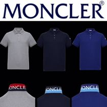 【MONCLER】POLO ロゴワッペン 襟裏ロゴ 全3色 18SS
