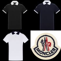 【MONCLER】POLO ロゴワッペン ポロシャツ 全3色 18SS