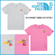 THE NORTH FACE★K'S POCKET EMBO S/S R/TEE 1_NT7UJ07