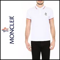 MONCLER 2018 春夏 ポロシャツ Short-Sleeved Polo Shirt